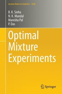 Optimal Mixture Experiments