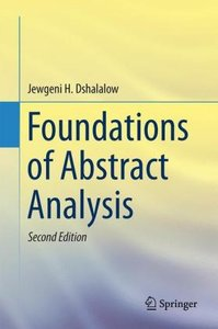 Foundations of Abstract Analysis