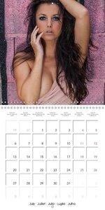 Hot Angelina...Nude calendar (Wall Calendar 2015 300 × 300 mm Sq