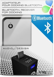 Bluetooth-Empfänger für iPod/iPhone-Dockingstationen mit 30Pin-A