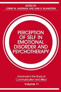 Perception of Self in Emotional Disorder and Psychotherapy