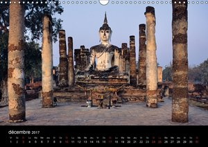Bouddha Le Maître de Zen (Calendrier mural 2017 DIN A3 horizonta