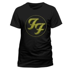 Logo Gold Circle (T-Shirt,Schwarz,Größe L)