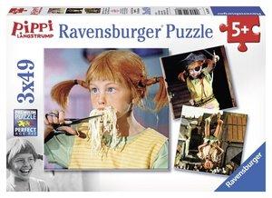 Pippi Langstrumpf 2. Puzzle 3 x 49 Teile