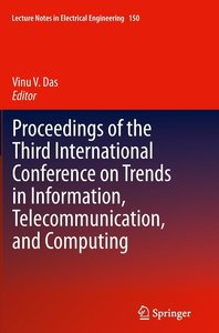 Proceedings of the Third International Conference on Trends in I