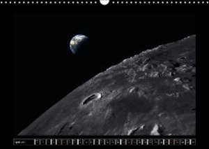 Moon Orbital Views (Wall Calendar 2015 DIN A3 Landscape)