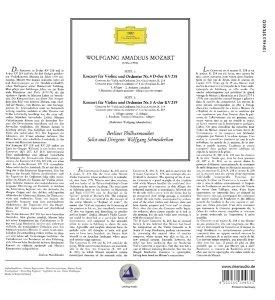Wolfgang Amadeus Mozart:Violinkonzerte (180g)