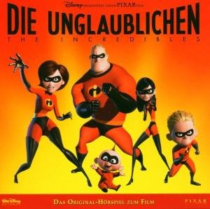 Die Unglaublichen. The Incredibles. Layoutversion. CD