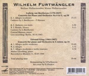 Furtwängler, W: Klavierkonzert 4/+