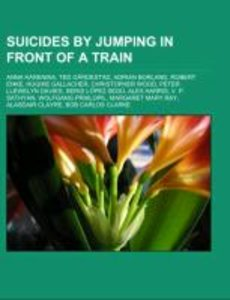 Suicides by jumping in front of a train