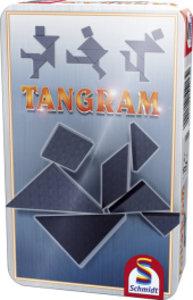 Tangram in Metalldose