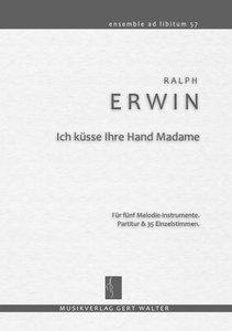 Ich küsse Ihre Hand Madame