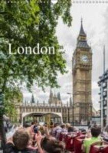 Dynamic LONDON (Wall Calendar 2015 DIN A3 Portrait)