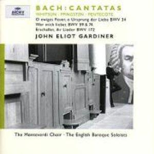 Pfingstkantaten BWV 34,59,74,172