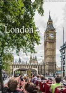 Dynamic LONDON (Wall Calendar 2015 DIN A3 Portrait)