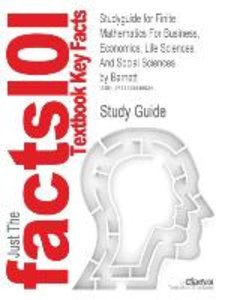 Studyguide for Finite Mathematics for Business, Economics, Life