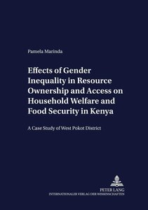 Effects of Gender Inequality in Resource Ownership and Access on