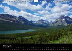 Montana! / UK-Version (Wall Calendar 2015 DIN A4 Landscape)