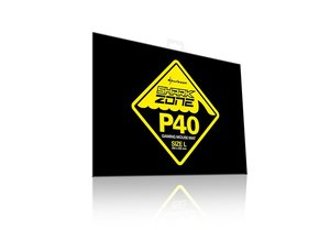 Sharkoon Shark Zone P40 - Gaming Mouse Mat (Mauspad) - Schwarz