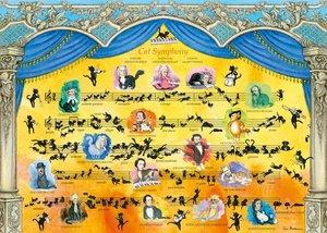 Cat Symphony. Puzzle 2000 Teile