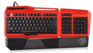 S.T.R.I.K.E. TEÖ Mechanische Gaming-Tastatur, Keyboard für PC, r