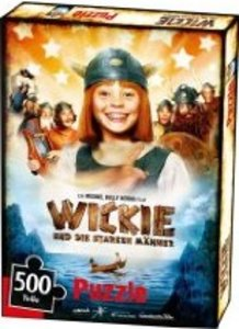 Jumbo Spiele 03268 - Wickie: Filmposter, Studio100, -500 Teile P