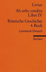 Ab urbe condita. Liber IV / Römische Geschichte. 4. Buch