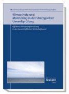 Klimaschutz und Monitoring in der Strategischen Umweltprüfung