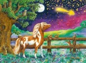 Ravensburger 13636 - Pony Peppermint, Sternschnuppennacht, Puzzl