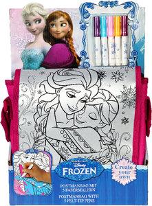 Diseny Frozen - Dis Eiskönigin Umhängetasche zum bemalen
