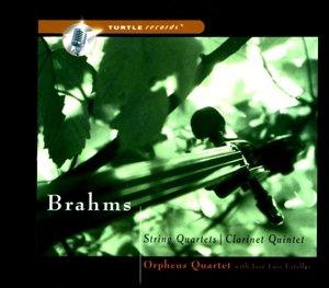Brahms String Quartets Clarinet Quintet