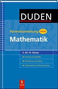 Bahro, D: Duden Formelsammlung extra - Mathematik
