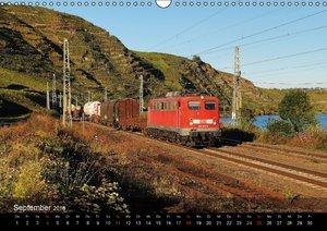 Eisenbahn in Mitteldeutschland (Wandkalender 2016 DIN A3 quer)