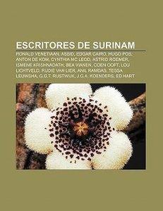 Escritores de Surinam
