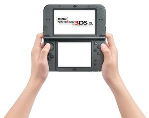 Nintendo New 3DS XL Konsole - Metallic Schwarz