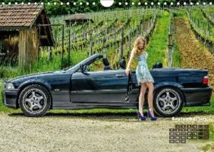 Girls and Cars (Wall Calendar 2015 DIN A4 Landscape)