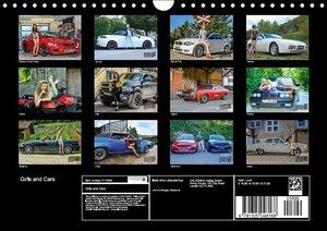 Girls and Cars (Wall Calendar 2015 DIN A4 Landscape)