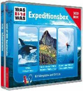"WAS IST WAS 3-CD-Hörspielbox ""Expedition"""