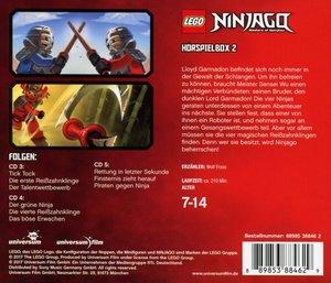 LEGO Ninjago Hörspielbox 2