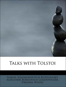 Talks with Tolstoi