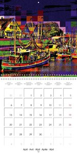 Mosaic photo art (Wall Calendar 2015 300 × 300 mm Square)
