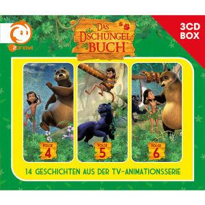 Das Dschungelbuch-3-CD Hörspielbox Vol.2