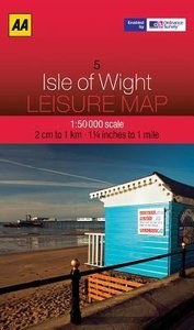 Leisure Map WK 05 Isle of Wight 1 : 50 000