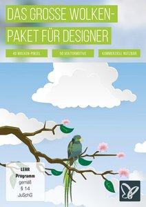 Das große Wolkenpaket für Photoshop, InDesign und Illustrator