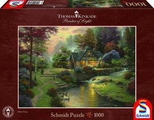 Thomas Kinkade, Friedliche Abendstimmung, 1.000 Teile
