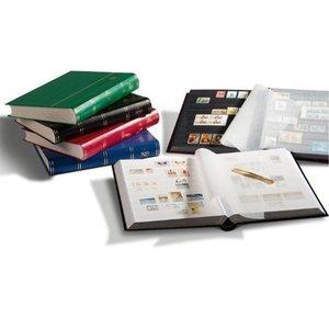 Briefmarken Einsteckbuch BASIC, 64 schwarze Seiten, Einband unwa