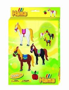 Hama 3428 - Geschenkpackung: Pferde Mobile, 2 Stiftplatten mit c