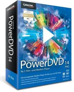 CyberLink PowerDVD 14 Pro. Für Windows XP/Vista/7/8