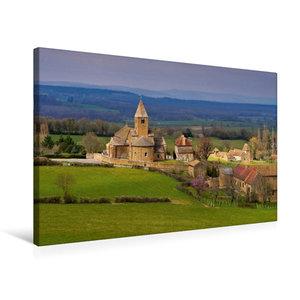 Premium Textil-Leinwand 75 cm x 50 cm quer La Chapelle-sous-Bran
