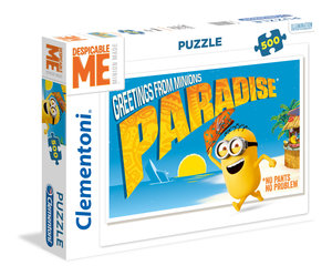 Clementoni Puzzle Minions Greetings from Minions Paradise 500 Te